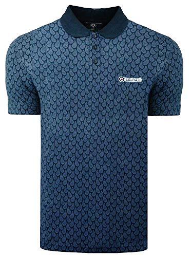 Lambretta Men's Triple Tipped Polo Shirt 1