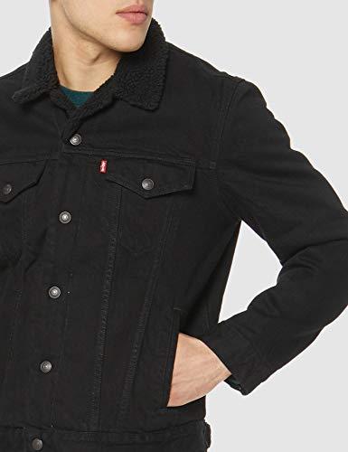 Levi's Men's Type 3 Sherpa Trucker Denim Jacket 3
