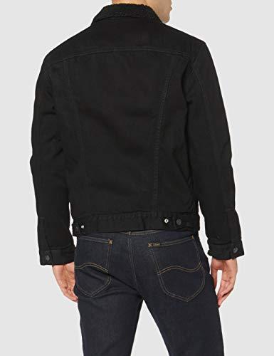Levi's Men's Type 3 Sherpa Trucker Denim Jacket 4