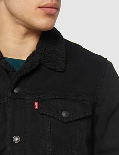 Levi's Men's Type 3 Sherpa Trucker Denim Jacket 5