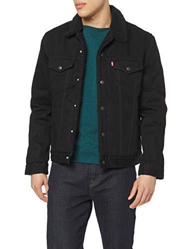 Levi's Men's Type 3 Sherpa Trucker Denim Jacket 1