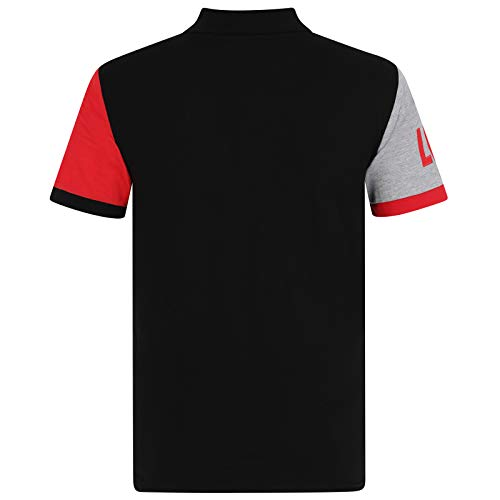 Liverpool FC Official Football Gift Mens Crest Polo Shirt 3