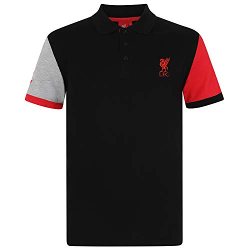 Liverpool FC Official Football Gift Mens Crest Polo Shirt 1