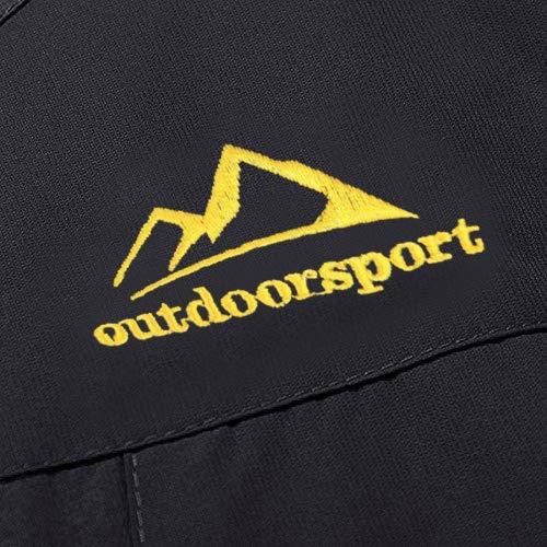 MAGCOMSEN Men's Waterproof Skiing Jacket Windproof Outdoor Mountain Parka Fleece Jackets with Hood 4