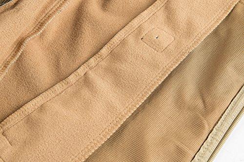 MAGCOMSEN Men's Waterproof Tactical Jackets Winter Outdoor Camouflage Softshell Jacket Fleece Lining 7