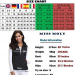 MISS MOLY Women's Stand Collar Lightweight Quilted Vest Jacket 19