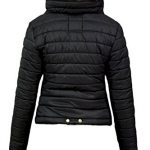 Malaika ® Ladies Quilted Padded Puffer Bubble Fur Collar Warm Thick Womens Jacket Coat - Avaiable in PLUS SIZES (Extra… 8