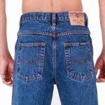 Mens Aztec Heavy Duty Basic Straight Leg Regular FIT Jeans 17