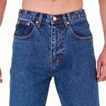 Mens Aztec Heavy Duty Basic Straight Leg Regular FIT Jeans 20