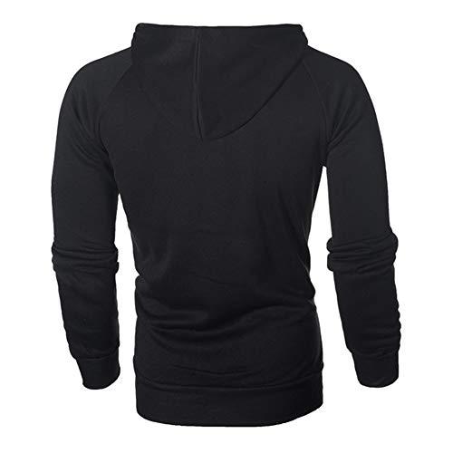 Mens Casual Long Sleeve Hoodies Full Zip Velvet Sweatshirt M-3XL 4