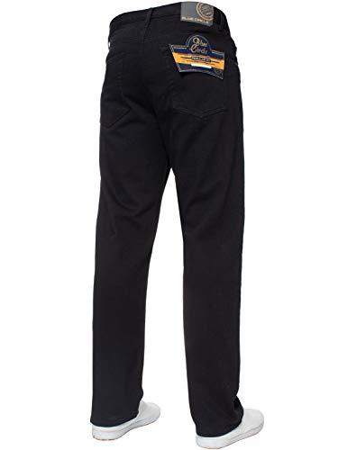 Mens Straight Leg Jeans Basic Heavy Duty Work Denim Trousers Pants All Waist Big Sizes in 4 Colours 4