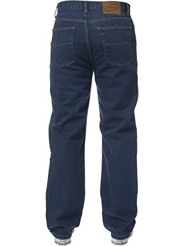 Mens Straight Leg Jeans Basic Heavy Work Denim Trousers Pants Big Tall King Sizes 5