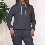 MoneRffi Women Tracksuit 2 Piece Set Casual Pullover Hoodie Tops and Sweatpants Sportwear Jogger Outfits Loungwear Set 22