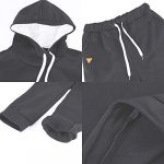 MoneRffi Women Tracksuit 2 Piece Set Casual Pullover Hoodie Tops and Sweatpants Sportwear Jogger Outfits Loungwear Set 26