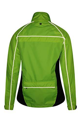 Mountain Warehouse Adrenaline Womens Waterproof Jacket - Breathable Ladies Coat, Taped Seams, Reflective Trims Rain… 3