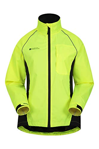 Mountain Warehouse Adrenaline Womens Waterproof Jacket - Breathable Ladies Coat, Taped Seams, Reflective Trims Rain… 4