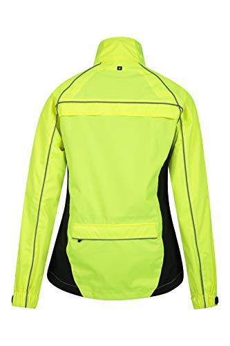 Mountain Warehouse Adrenaline Womens Waterproof Jacket - Breathable Ladies Coat, Taped Seams, Reflective Trims Rain… 6