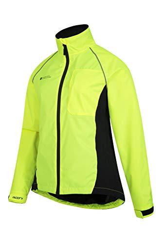 Mountain Warehouse Adrenaline Womens Waterproof Jacket - Breathable Ladies Coat, Taped Seams, Reflective Trims Rain… 8