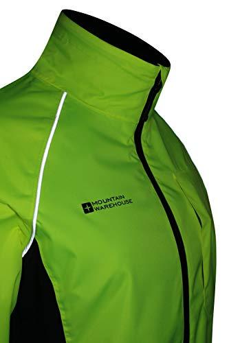 Mountain Warehouse Adrenaline Womens Waterproof Jacket - Breathable Ladies Coat, Taped Seams, Reflective Trims Rain… 9
