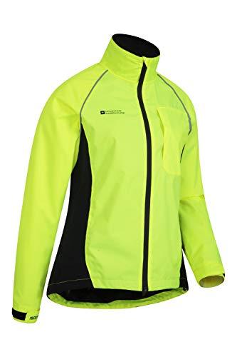 Mountain Warehouse Adrenaline Womens Waterproof Jacket - Breathable Ladies Coat, Taped Seams, Reflective Trims Rain… 10