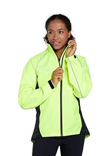 Mountain Warehouse Adrenaline Womens Waterproof Jacket - Breathable Ladies Coat, Taped Seams, Reflective Trims Rain… 1