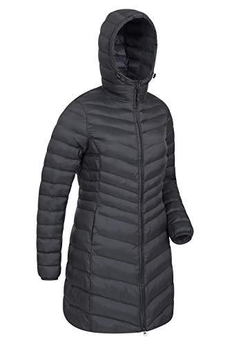 Mountain Warehouse Florence Womens Winter Long Padded Jacket - Water Resistant Rain Coat, Lightweight Ladies Jacket… 4