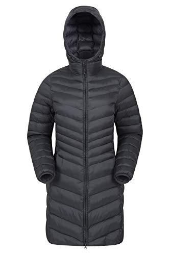 Mountain Warehouse Florence Womens Winter Long Padded Jacket - Water Resistant Rain Coat, Lightweight Ladies Jacket… 1