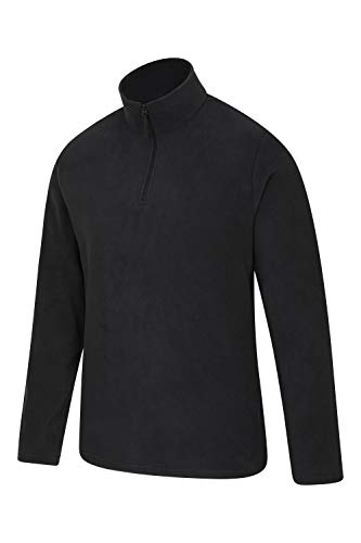 Mountain Warehouse Mens Camber Fleece Top - Lightweight Top, Breathable Sweater, Quick Drying Pullover, Extra… 5