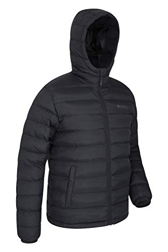 Mountain Warehouse Season Mens Padded Jacket - Water Resistant Jacket, Lightweight, Warm, Lab Tested to -30C, Microfibre… 4