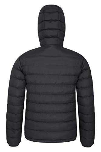 Mountain Warehouse Season Mens Padded Jacket - Water Resistant Jacket, Lightweight, Warm, Lab Tested to -30C, Microfibre… 5