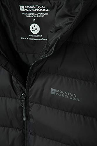 Mountain Warehouse Season Mens Padded Jacket - Water Resistant Jacket, Lightweight, Warm, Lab Tested to -30C, Microfibre… 6