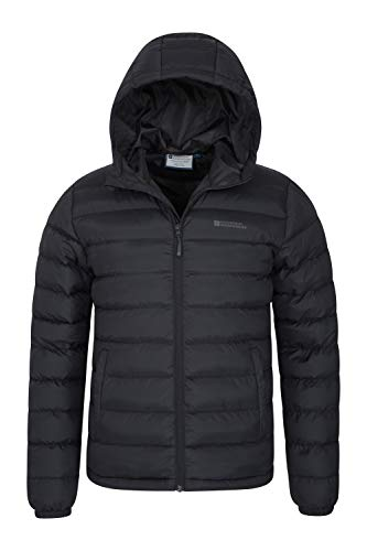 Mountain Warehouse Season Mens Padded Jacket - Water Resistant Jacket, Lightweight, Warm, Lab Tested to -30C, Microfibre… 7