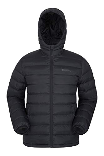 Mountain Warehouse Season Mens Padded Jacket - Water Resistant Jacket, Lightweight, Warm, Lab Tested to -30C, Microfibre… 1