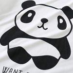 MyFav Women's Sleepwear Long Sleeve Top and Pants Pyjama Set Panda Print Nighty 20