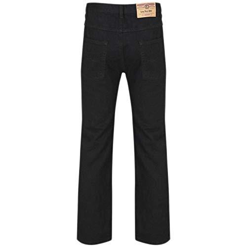 MyShoeStore Mens Original Cotton Jeans Plain Straight Leg Heavy Duty Denim Wash Boys Jean Classic Designer Fit Casual… 5