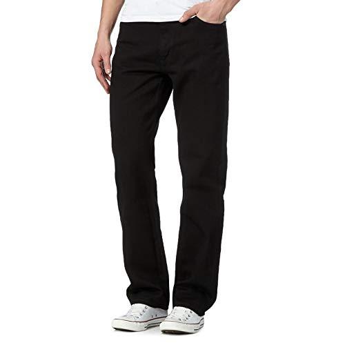 MyShoeStore Mens Original Cotton Jeans Plain Straight Leg Heavy Duty Denim Wash Boys Jean Classic Designer Fit Casual… 1