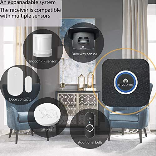 Mydome Wireless Driveway Alarm Sensor & Garden Sensor alarm | Home Security Plugin Chime Kit, Designed for UK Homes and… 8