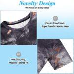 NEWISTAR Unisex 3D Printed Summer Casual Short Sleeve T Shirts Tees 18