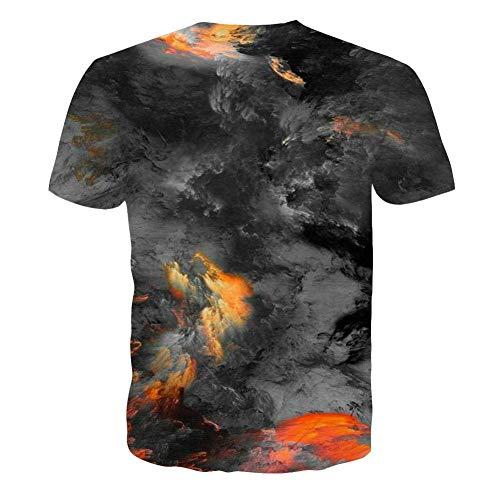 NEWISTAR Unisex 3D Printed Summer Casual Short Sleeve T Shirts Tees 8