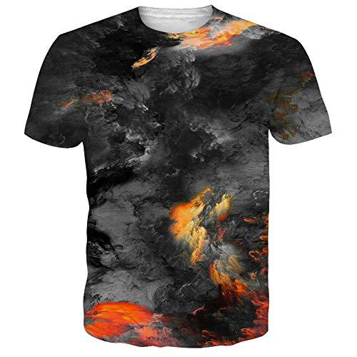 NEWISTAR Unisex 3D Printed Summer Casual Short Sleeve T Shirts Tees 1