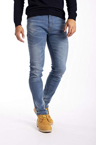 New Mens Stretch Skinny Slim Fit Flex Jeans Pant Stretchable Denim 98% Cotton & 2% Stretch Trouser 28-40 Waist 3