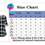 Odosalii Womens Zip Up Plaid Tunic Blouse Rolled Up Sleeve Polo Top Check Shirts 17