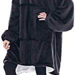 Oversized Sherpa Hoodie, Wearable Hoodie Sweatshirt Blanket, Super Soft Warm Comfortable Blanket Hoodie, One Size Fits… 15