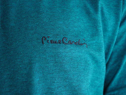 Pierre Cardin Mens Engineered Thin Stripe Polo with Signature Embroidery 5