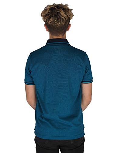 Pierre Cardin Mens Engineered Thin Stripe Polo with Signature Embroidery 8