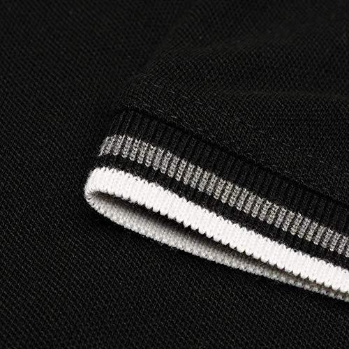Pierre Cardin Tipped Men's Polo Shirt Short Sleeve Tee Top 7