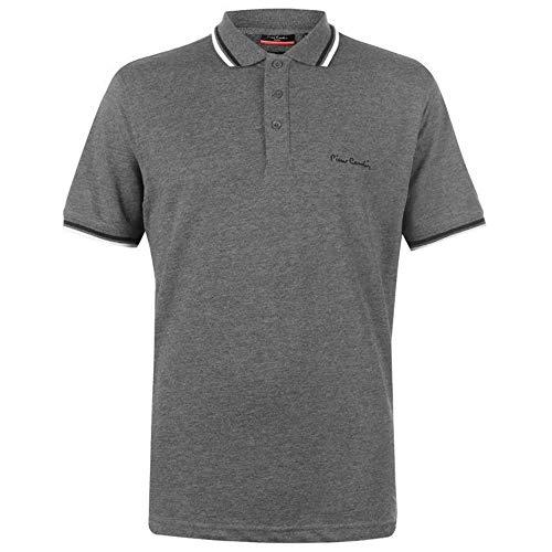 Pierre Cardin Tipped Men's Polo Shirt Short Sleeve Tee Top 9