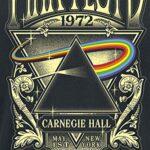 Pink Floyd Dark Side of The Moon - Live On Stage 1972 Men T-Shirt Black, Regular 16
