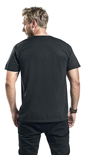 Pink Floyd Dark Side of The Moon - Live On Stage 1972 Men T-Shirt Black, Regular 5