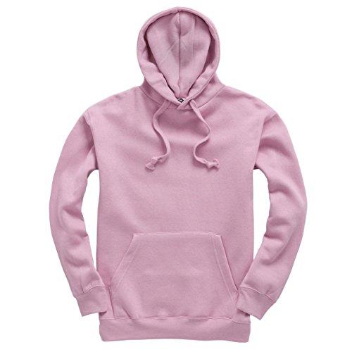 Plain Pullover Hoodie Hooded Top Unisex Mens Ladies Hooded Sweatshirts 1